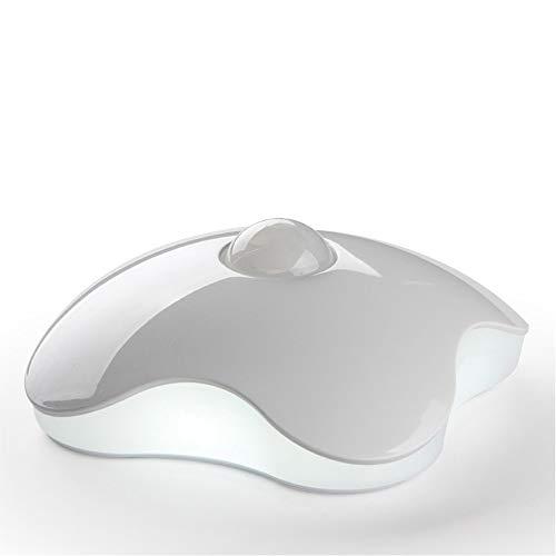 人感センサー LEDライト USB充電式 3Mテープ 粘着固定 常夜灯 ナイトライト 屋内 玄関 クローゼット 小型 ホワイト 昼光色/電球色 (昼白色充電タイプ)