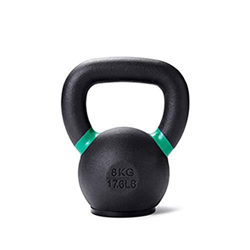 Kettlebell AGYH Ghisa, con Base in Gomma, Impugnatura Larga, Attrezzatura Fitness Domestica per Uomo E Donna, 4KG, 8KG, 12KG, 16KG (Size : 4KG-8.8LB)