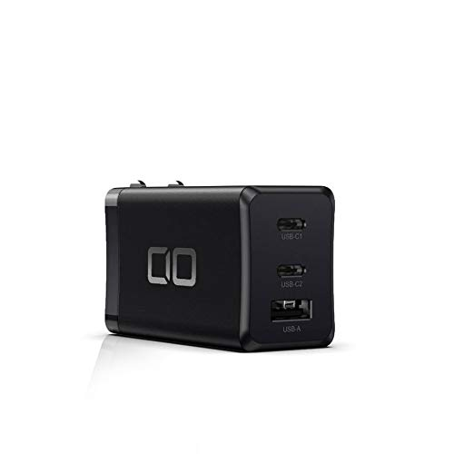 CIO LilNob GaN 65W 充電器 世界最小級 3ポート USB ACアダプター USB-C 急速充電器 軽量 タイプC iPhone A...