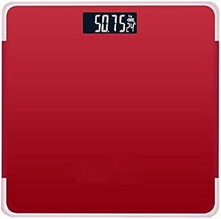 Báscula Pantalla Lcd Roja Índice Del Cuerpo Básculas De Pesaje Inteligentes Electrónicas 180 Kg Cuerpo Del Baño Báscula Básculas Digitales De Peso Humano