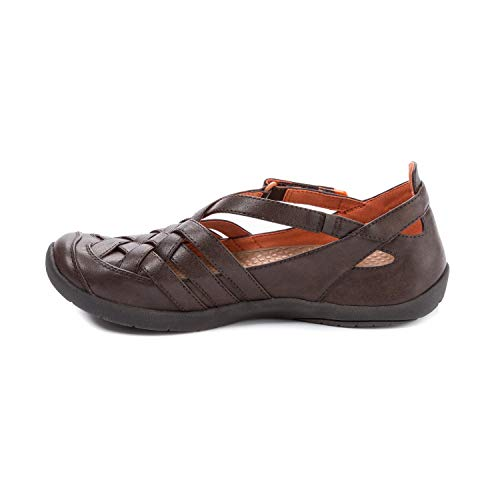 BareTraps Womens Farrell Closed Toe Casual Sport Sandals, Dk Brown, Size 6.0