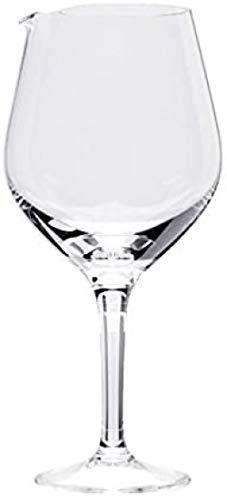 Caraffa decanter a forma di grande bicchiere di vino CONTIENE 2 BOTTIGLIE DI VINO da utilizzare per cocktail Sangria Punch