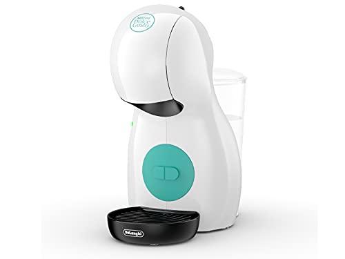 DeLonghi Nescafé Dolce Gusto Piccolo XS Pod Capsule Coffee Machine, Espresso, Cappuccino and more, EDG210.W, White & Green
