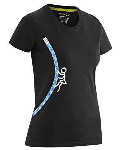 EDELRID Rope T-Shirt Femme, Fille Climbing, L