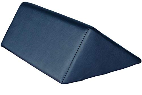 "Therapist's Choice® Triangle Massage Bolster Extra Large: 19"" x 12"" x 20"" x 15.5"" (Dark Blue)"