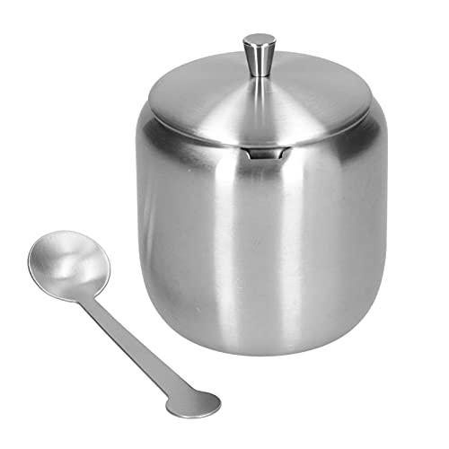 Recipientes herméticos para almacenamiento de alimentos, capacidad de recipiente de azúcar de 370 ml para almacenar sal para azúcar para glutamato monosódico