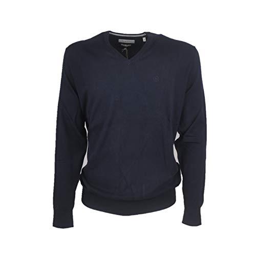 BUGATTI Sweatshirt für Herren, Blau XXXXL