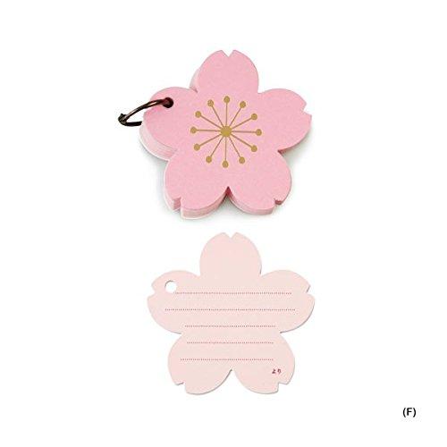 おもいで色紙帳 (F)桜 [CL087]