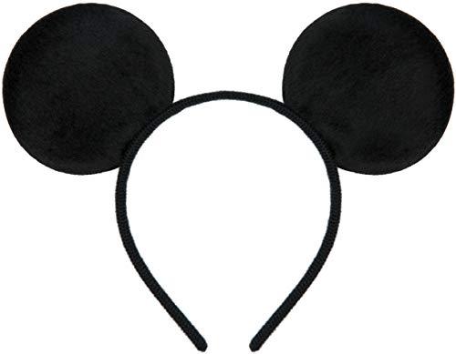 Balinco Haarreifen in schwarz mit Maus Ohren Micky Mouse