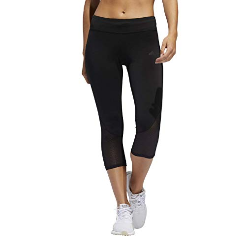 adidas Womens Own The Run Leggings, Black, S