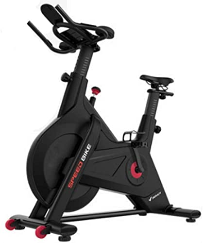 Bicicleta estática de Ciclismo Interior Cinta de Correr silenciosa Asiento Ajustable 10KG Volante magnético Exterior bidireccional Sensores de frecuencia cardíaca Silenciosos