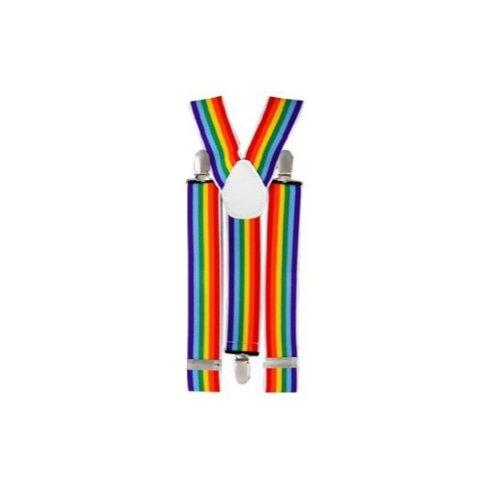 Rainbow Color Suspenders