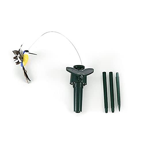 Taitan Multicolor Lámpara Solar Flying Simulation Mariposa Luz para Jardín Césped Girasol Impermeable Caminos Decoración