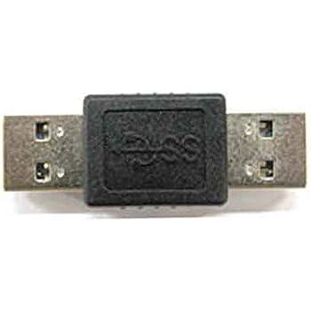 カモン USB3.0対応変換アダプタ(Aタイプ:オス←→オス)【3AA-MM】