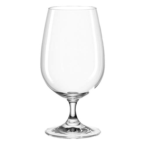 montana first+ Wasser-Gläser, 6er Set, spülmaschinenfeste Wasser-Kelche, Trink-Gläser im klassischen Stil, Kelch-Gläser, Saft-Glas, 420 ml, 044451