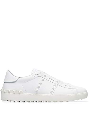 Valentino Luxury Fashion Garavani Herren UY2S0931YEK0BO Weiss Leder Sneakers | Jahreszeit Permanent