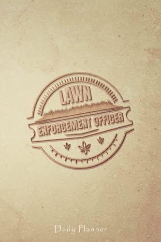 Lawn Enforcement Officer Funny Mower Gardening Lover Gift Retro Vintage...