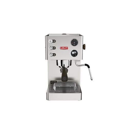Lelit PL91T Victoria, Macchina da caffè Professionale con LCC per gestire Tutti i parametri, 1200 W, 2 Litri, Acciaio Inossidabile