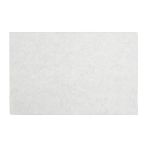 Royal Non-Woven Filter Sheets, 12.5 Inch x 17.75 Inch, Package of 100