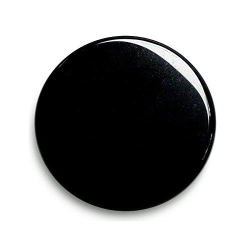 Lapis Vitalis Obsidianspiegel mittel, circa 12 cm, lose verpackt, 1er Pack (1 x 300 g)