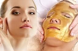 5 x De oro bio- colágeno máscara facial máscara de cristal de oro en polvo de colágeno máscara facial hidratante anti- edad Boolavard TM
