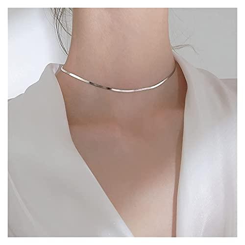 L.TSA Joyería Collar Delicado Collares para Mejores Amigos Adorno de Mujer Decoración Simple para niñas Adolescentes Declaración, joyería