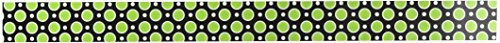 Teacher Created Resources Zebra Green Dot Double-Sided Border Photo #3