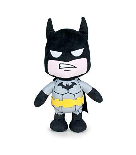 COMIC / SUPERHERO JUSTICE LEAGUE Batman DC - Peluche Grigio, 35 cm