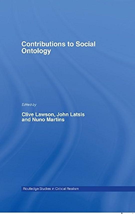 主流以下偏見Contributions to Social Ontology (Routledge Studies in Critical Realism Book 15) (English Edition)