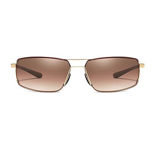JIAGU Gafas de Sol de Estilo Gafas de Sol for Hombre Gafas de Sol Retro sin Marco Gafas de Sol cuadradas (Color : 05, Size : Free Size)