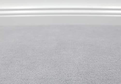 Teppichboden Auslegware Vorwerk Bijou UNI Grau 400 x 325 cm 22,80 EUR/m²