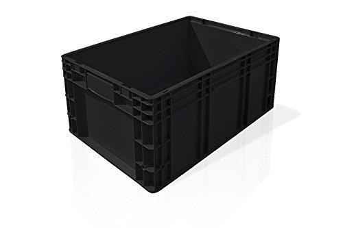 ISOCO Behälter R-KLT 6429 schwarz, 1 Stück