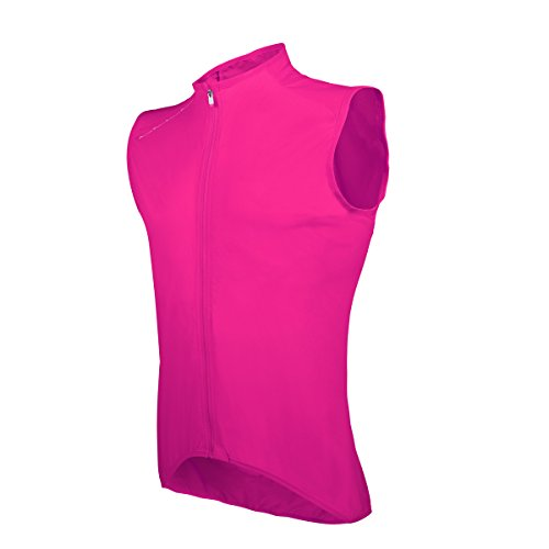 POC AVIP Lt Wind Gilet Ciclismo, Uomo, Uomo, AVIP LT Wind, Rosa (Fluorescent Pink), XS