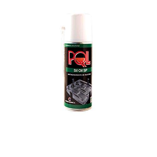 PQL Sil Oil SP 400 ml - Antiadherente/desmoldeante de silicona - Abrillantador de plásticos, neumáticos y lubricante para plásticos