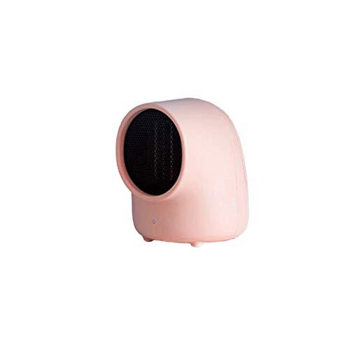 Mini calentador, control inteligente portátil silencioso calentador eléctrico del ventilador del calentador...