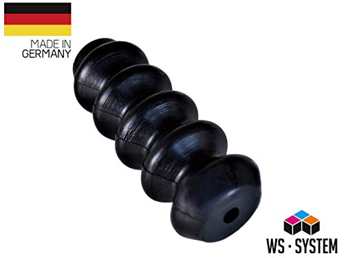 2 Stück Universal Faltenbalg Gummi Manschette Anhänger L 47mm-120mm Ø 8mm-30mm | Faltenbalg | Manschette | Achsmanschette | Anhängerbalg | Lenkmanschette | Balg | Schutzbalg |