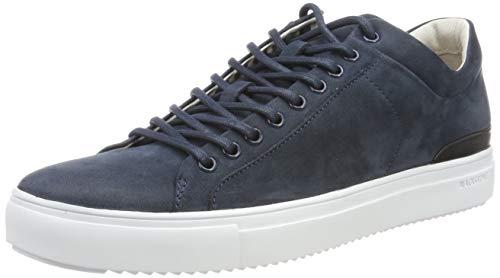 Blackstone Pm56, Zapatillas Altas para Hombre, Negro (Dark Denim...