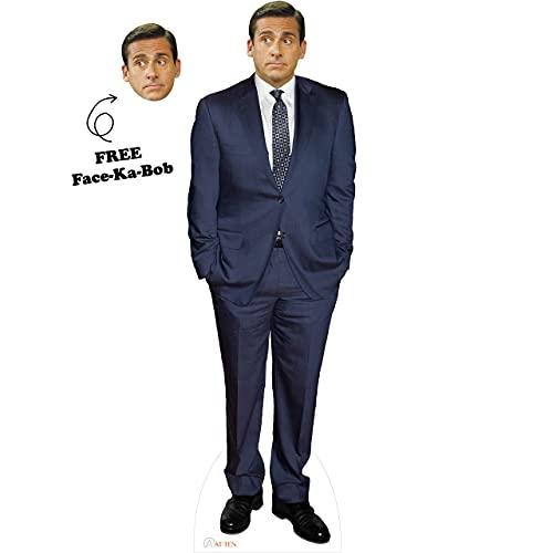 Michael Scott Cardboard Cutout Standup Steve Carell Celebrity Life-Size...