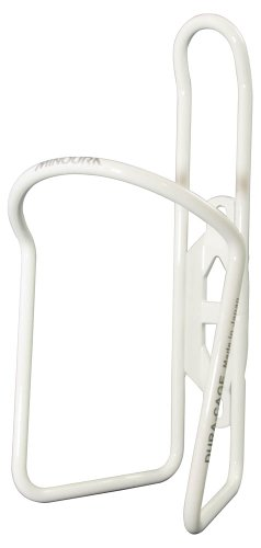 Minoura AB-100-4.5 Powder Coated Water Bottle Cage, White, 4.5mm by Minoura