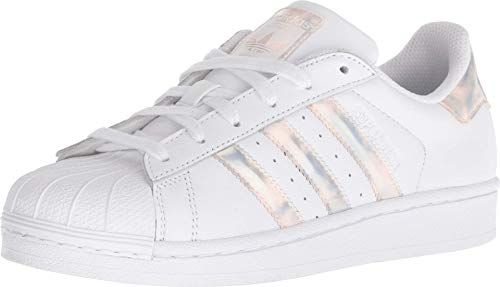 adidas Superstar Shoes Kids', White, Size 7