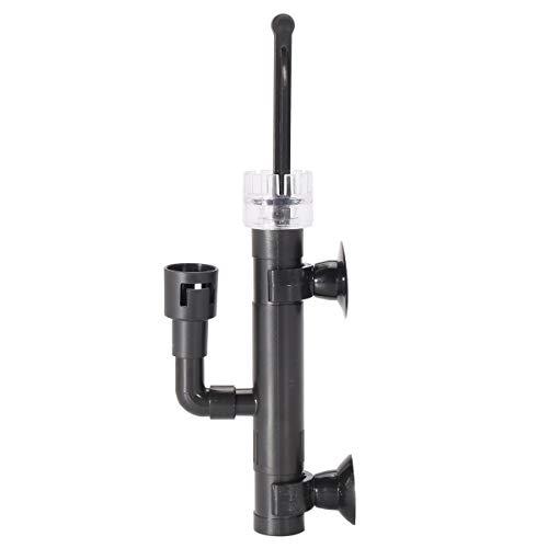 Terrarum Oberflächenabschäumer für Aquarien, Aquarium, Oberflächenkalker, Ölfilm-Entferner, Mini-Filter