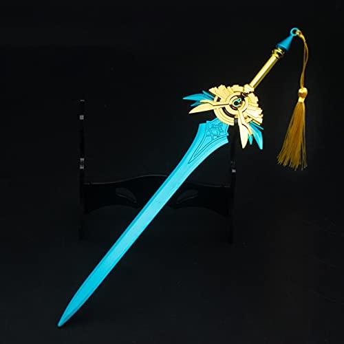 ZHAOQIAN Modelo de Juguete de Anime Llavero, Llavero, para Anime Genshin Impact, Altamente restaurado, se Aplica a los Regalos de la colección de fanáticos del Anime