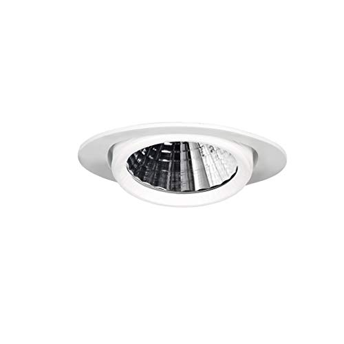 Downlight LED OD102-1, 30 W, 30°, blanco, redondo, orientable (3000 Kelvin)
