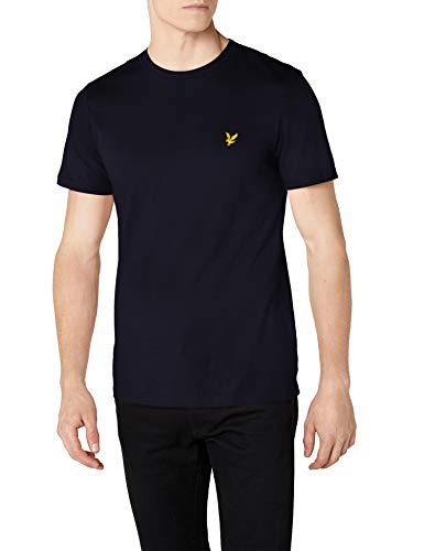 Lyle & Scott Crew Neck, T-Shirt Uomo, Blu (Navy), Medium