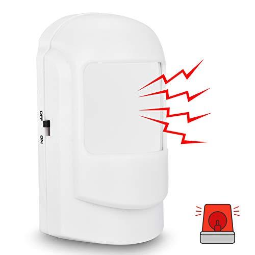 Detector de movimiento inalámbrico, alarma del detector de movimiento del sensor infrarrojo de WiFi del sistema de alarma casera para la seguridad en el hogar