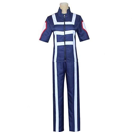 My Hero Academia Boku No Hero Cosplay Disfraz Hombres Mujeres Uniforme Escolar Gimnasio Traje Camiseta Pantalones Midoriya Izuku Todoroki Shouto - 1, M