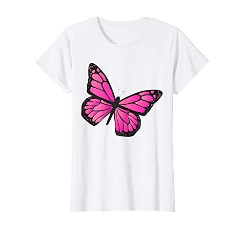 Damen Fasching & Karneval - Schmetterling Kostüm T-Shirt