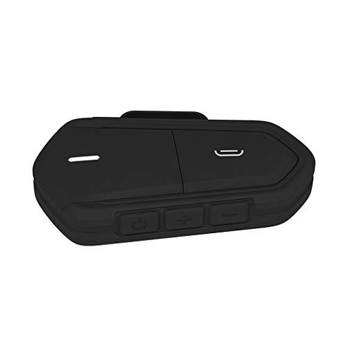 B Blesiya Auriculares Bluetooth para Moto, Intercomunicador para Casco Y Audio para Reproductor MP3 / GPS, Manos Libres Y Radio FM