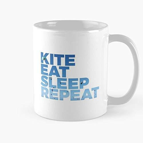 N\A Kitesurf Surf Kitesurfer Sports Kite Boardsports Kiteboard Wind Best Taza de café de cerámica de 11 onzas