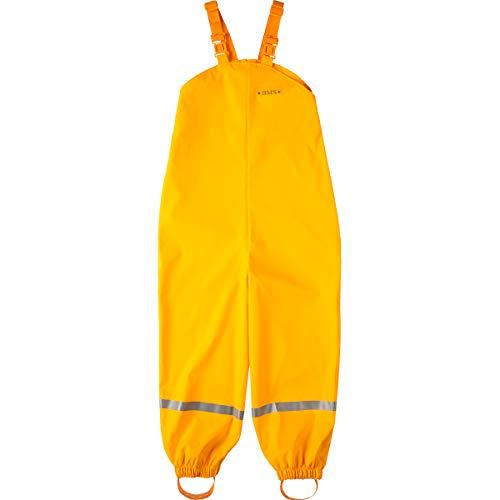 BMS Regenhose Buddelhose Matschhose für Kinder in Gelb Größe 110